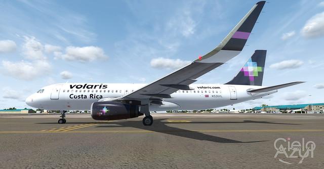 Volaris Costa Rica (N526VL N527VL XA-VLR) v3.0