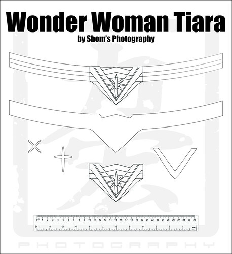 Zany image throughout wonder woman template printable