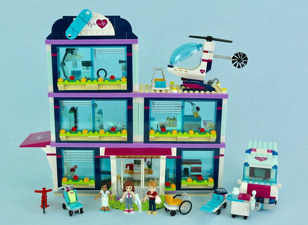 Lego Friends 41318 Heartlake Hospital Review Brickset Lego Set