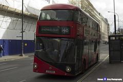 Wrightbus NRM NBFL - LTZ 1124 - LT124 - Shepherd's Bush 148 - RATP London United - London 2017 - Steven Gray - IMG_8260