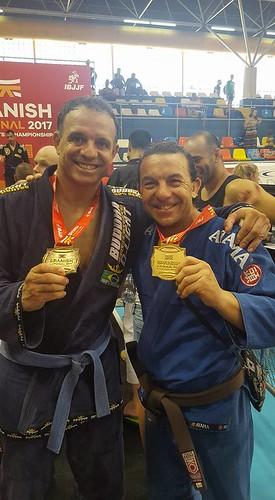 Juanma Campillo y Vicente Lozano, campeones de España de Jiu-Jitsu