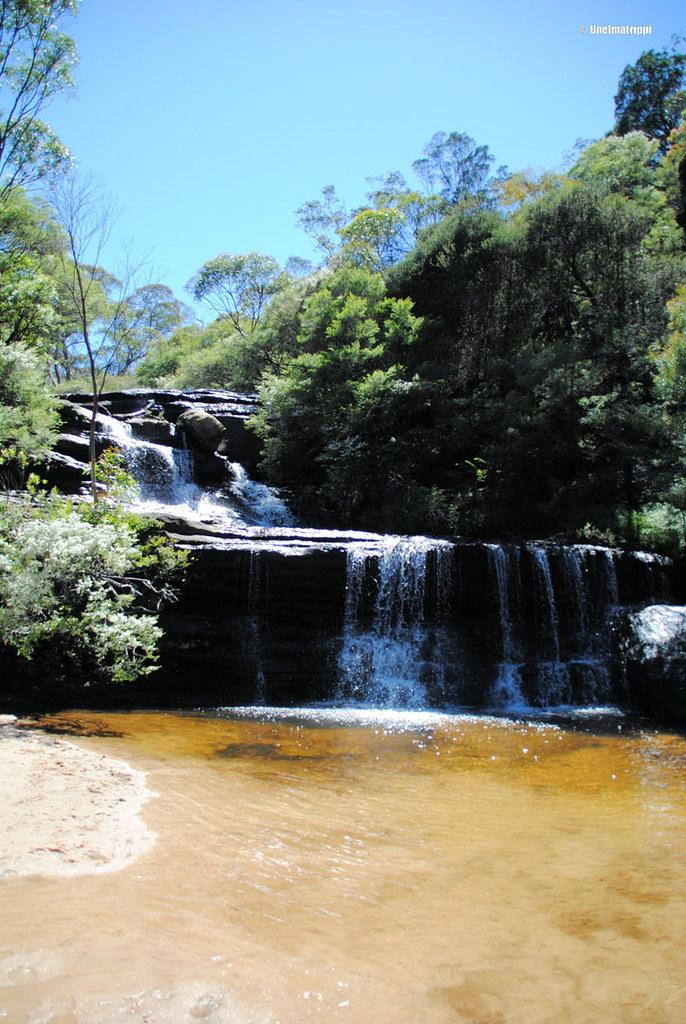 Vesiputous Blue Mountainsilla Australiassa