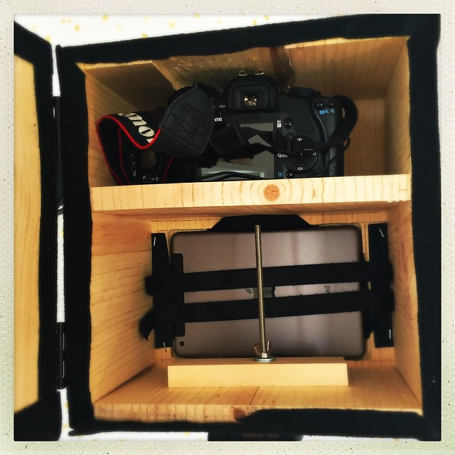 DIY Photo Booth Camera Housing