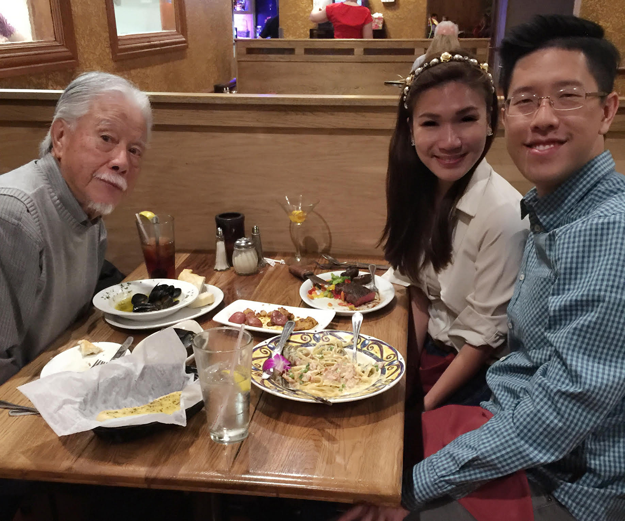 Dinner at Papa Joe's