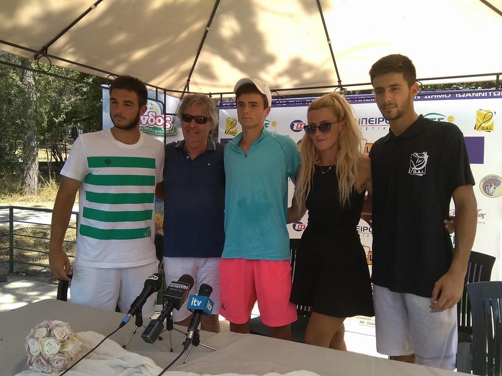 Συνεχίζεται το 2ο ITF CUP - Στα ημιτελικά ο Βαρδάκης