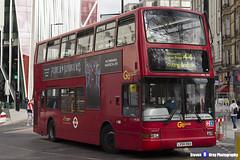 Volvo B7TL Plaxton President - LX54 HAA - PVL390 - Go Ahead London - Tooting Station 44 - London 2017 - Steven Gray - IMG_9646