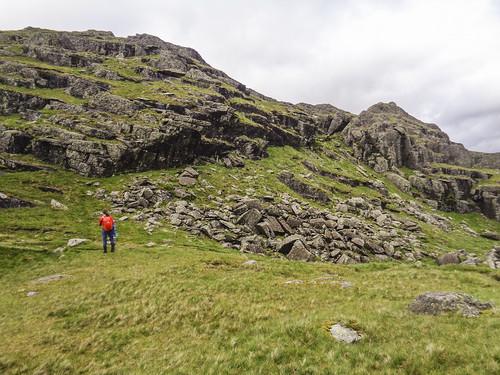 The final climb to Blea Rigg