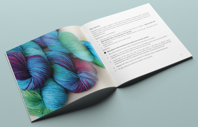 Inside the Little Book of Yarn Dyeing