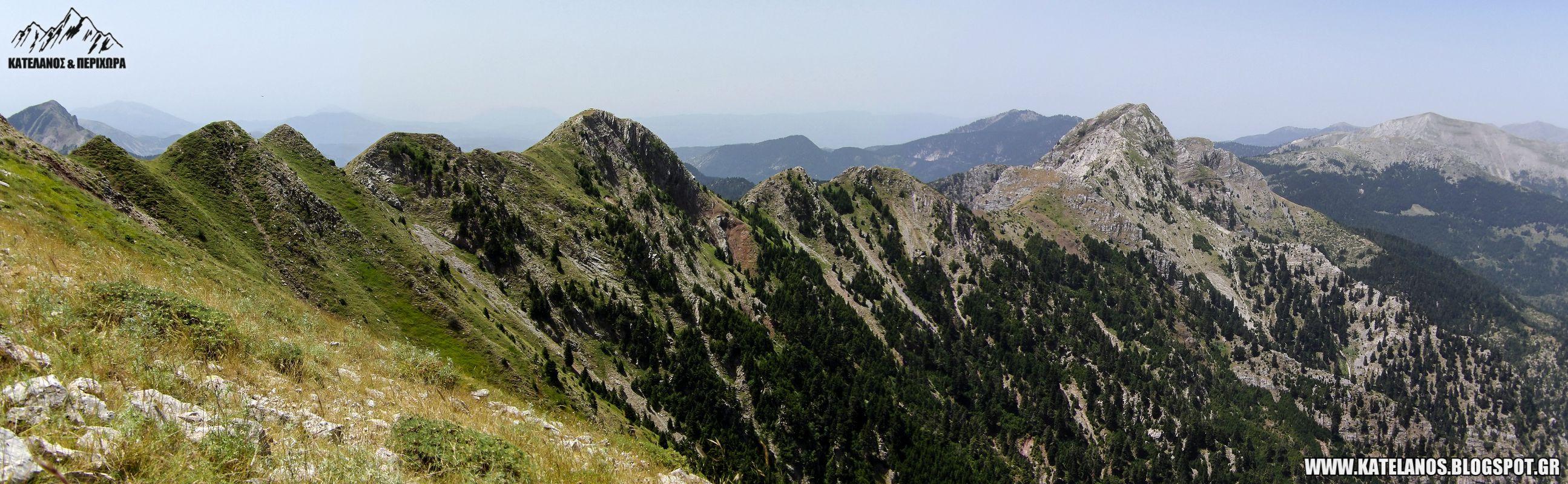 πλατανακι κουρκουρεχι βουνοκορφες παναιτωλικου ορους
