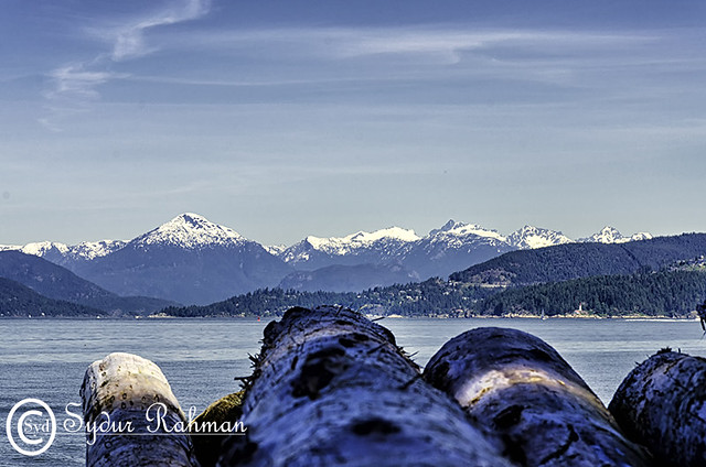 Beautiful British Columbia from Tower Beach