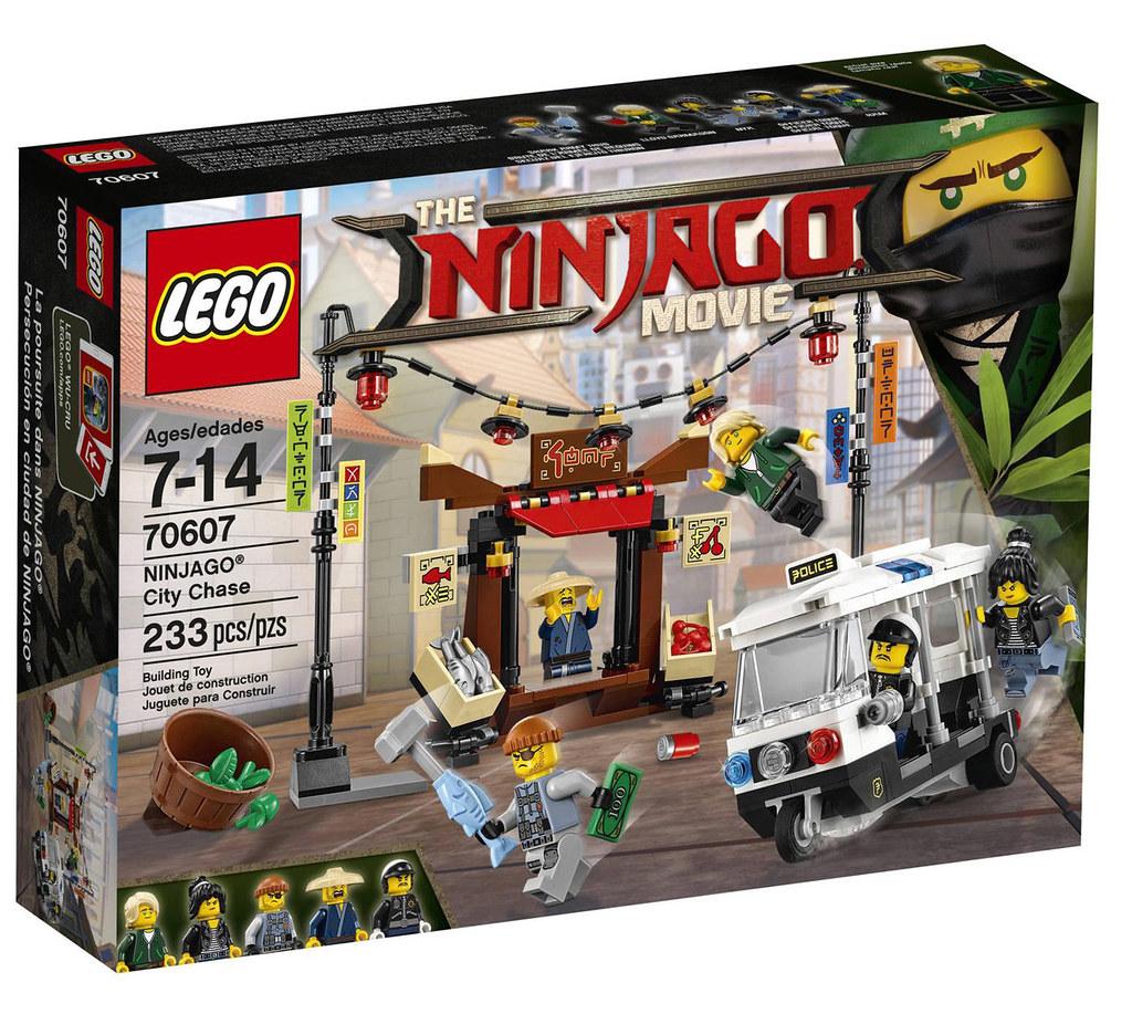 The LEGO Ninjago Movie 70607 - Ninjago City Chase