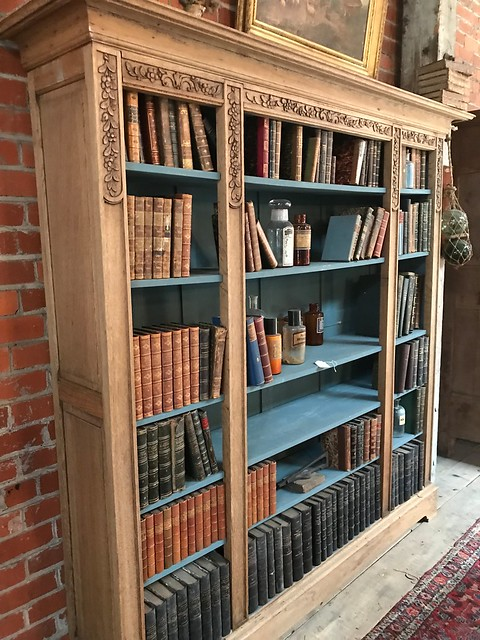 Antique French Bookcase-Housepitality Designs