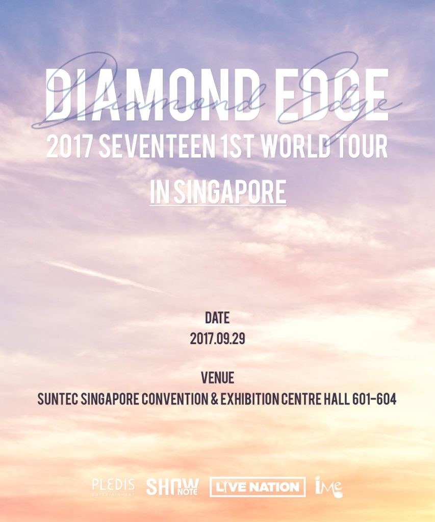 SEVENTEEN 1st World Tour in Singapore