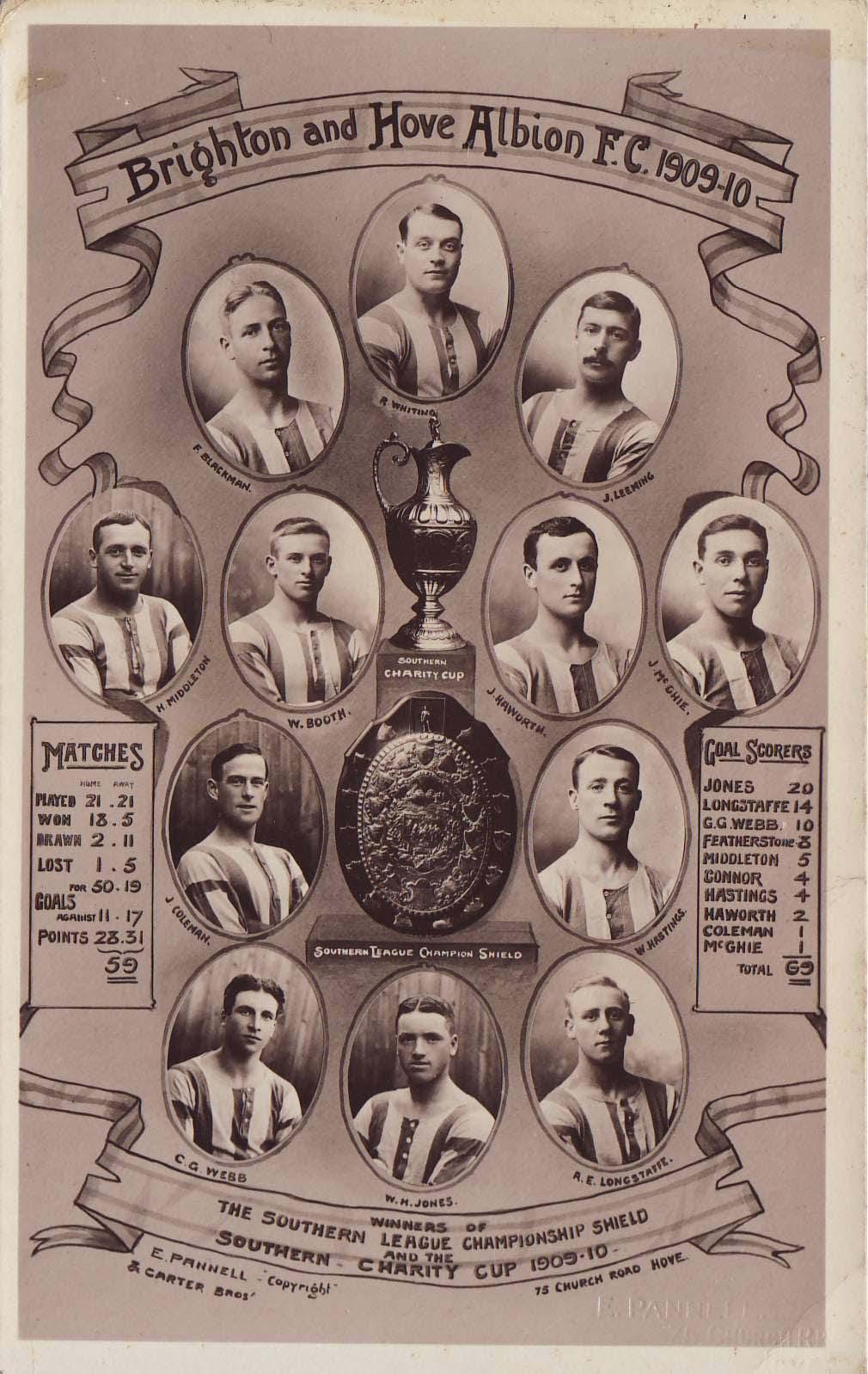 Brighton team 1910