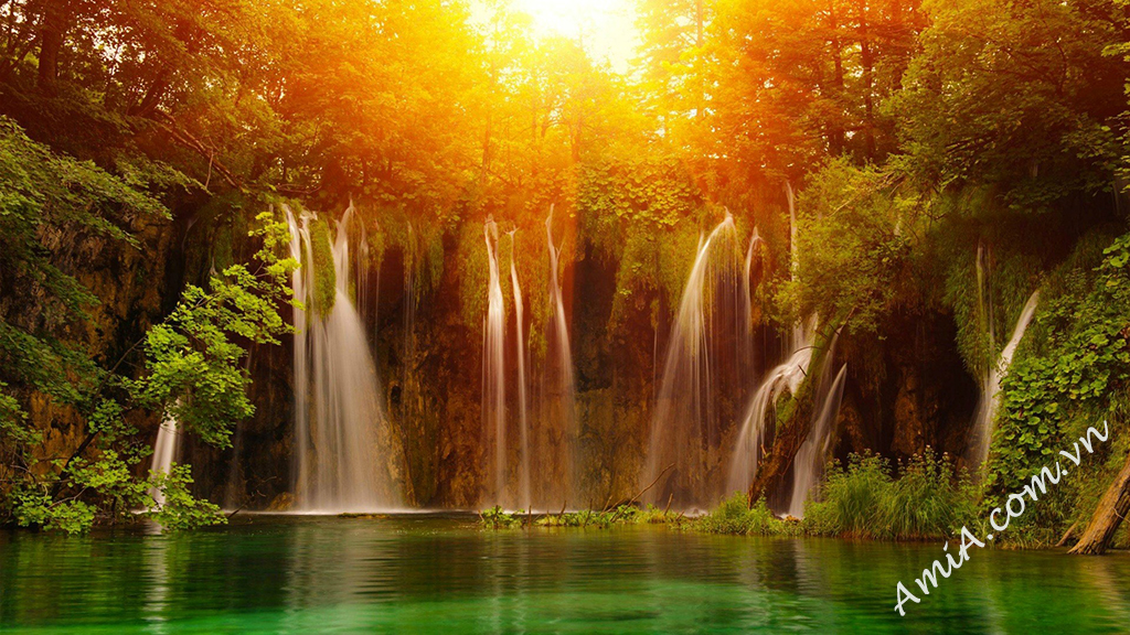 waterfall wallpaper high resolution AmiA