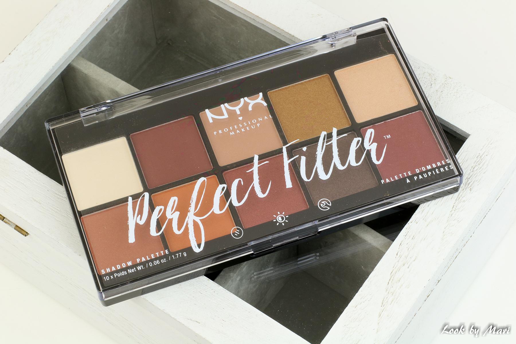 2-1 nyx perfect filter luomiväri paletti rustic antique kokemuksiä sävyt värit