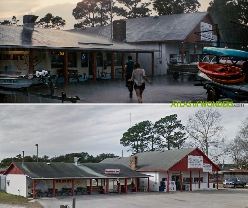 Where is Safe Haven filmed