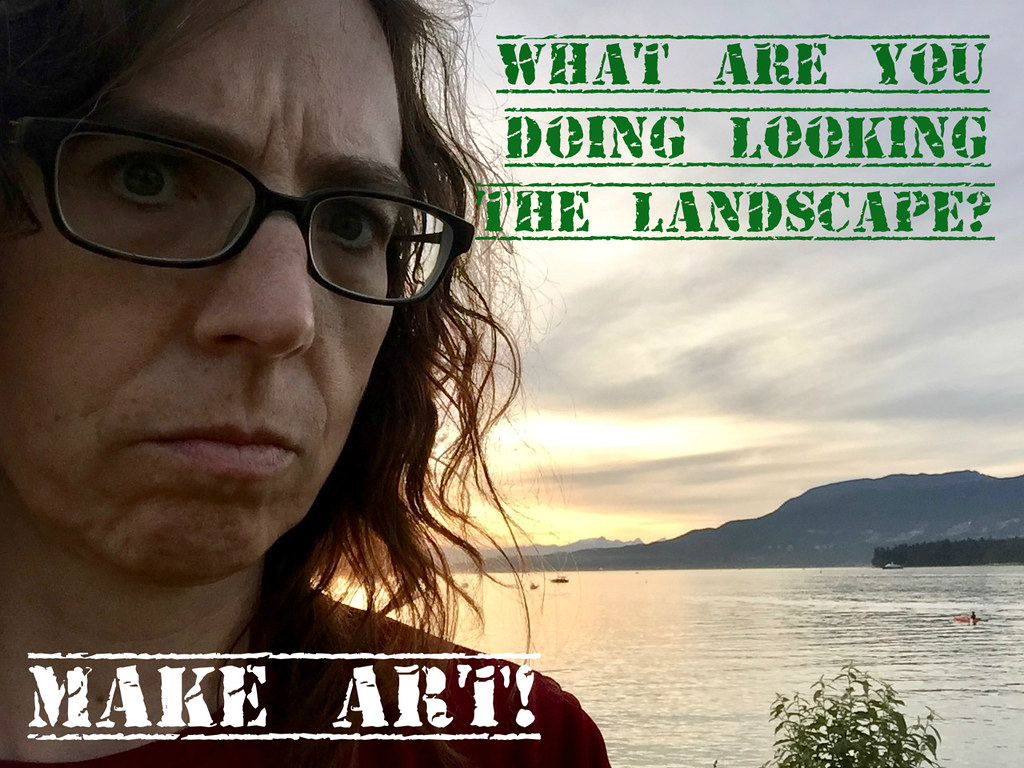 Sgt. Hulka says make art dammit!