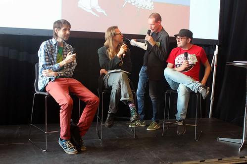 Håkan Storsaeter, Johan Ragnarsson, Jan Hoff och Daniel Lenneér.