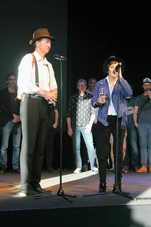 Joakim Lindengren och Giannina Braschi.