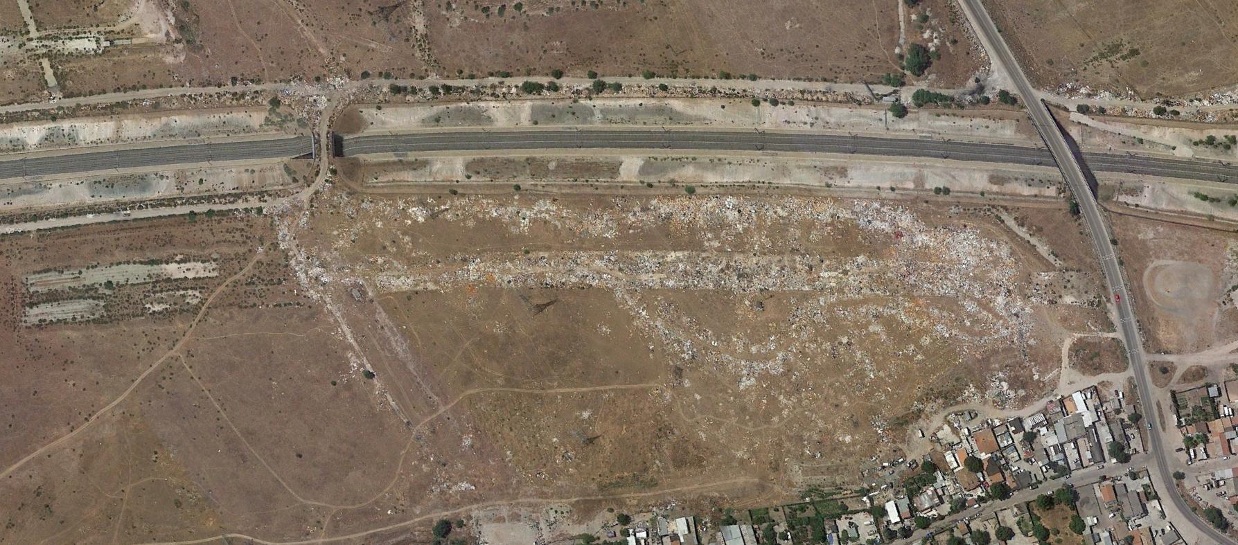 m-823 con cañada real, madrid, lixo, después, urbanismo, planeamiento, urbano, desastre, urbanístico, construcción, rotondas, carretera