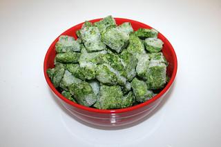 07 - Zutat Rahmspinat / Ingredient creamed spinach