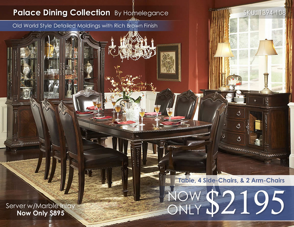 Palace Dining Collection_2017 By Homelegance 1394-108