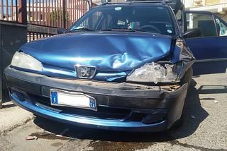Noicattaro. Incidente via Rocco Desimini front