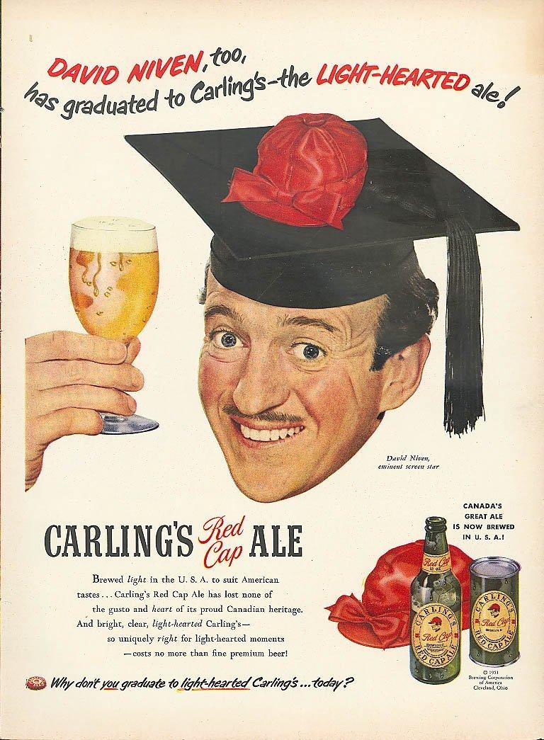 Carling-1951-david-niven