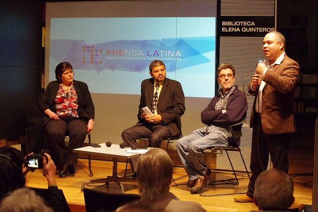 Homenaje a Prensa Latina y el Che