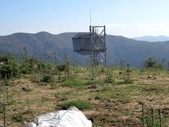 Arrivée au Pianu di Barculinu : l'antenne