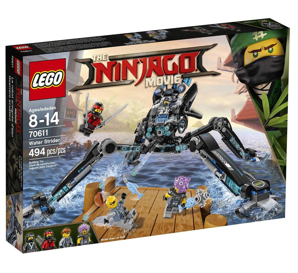The LEGO Ninjago Movie 70611 - Water Strider