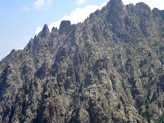 3ème sommet : l'arête du Traunatu