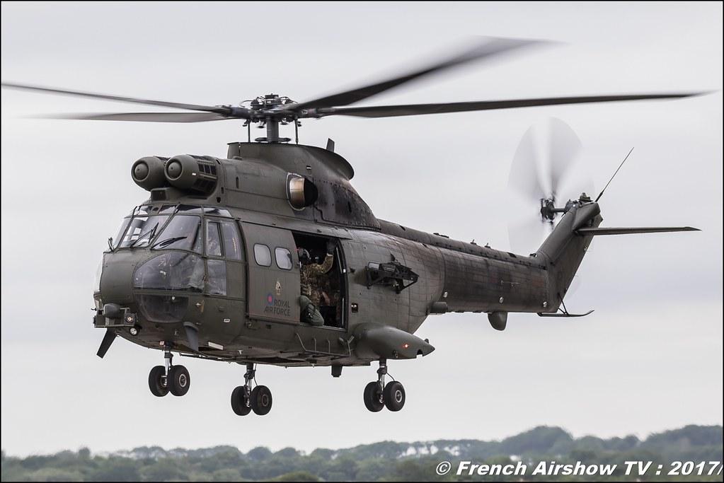 Puma HC Mk2, 230 Sqn (RAF) , Nato Tiger Meet landivisiau 2017 , NTM2017 ,Spottersday Nato Tigers , Harde to be humble , bretagne