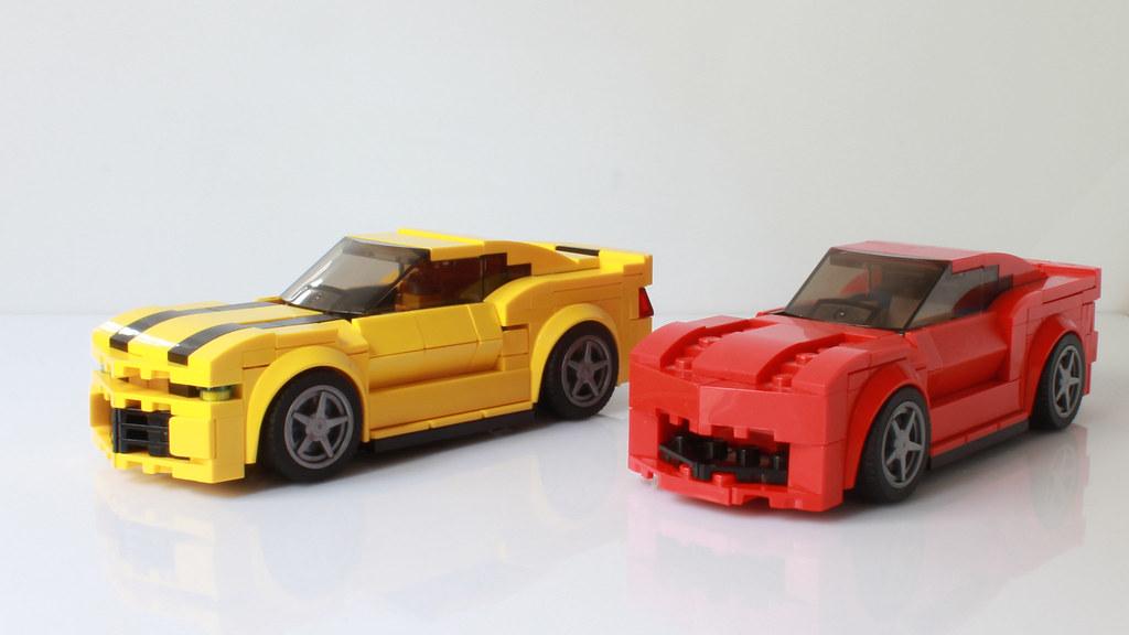 Lego Transformers Bumblebee It Transforms Transformatio Flickr