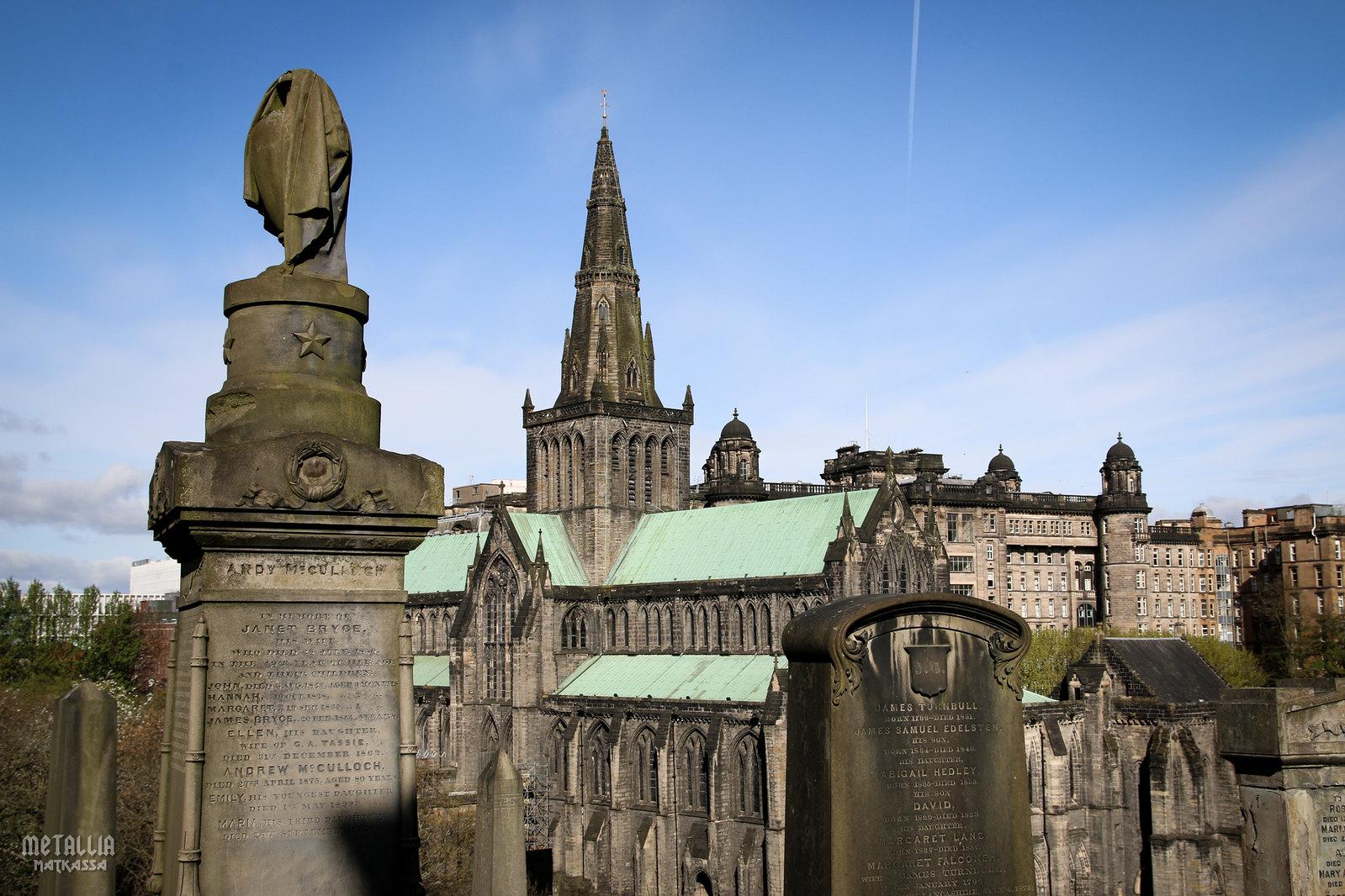 glasgow necropolis, glasgow cemeteries, victorian cemeteries, glasgow cathedral