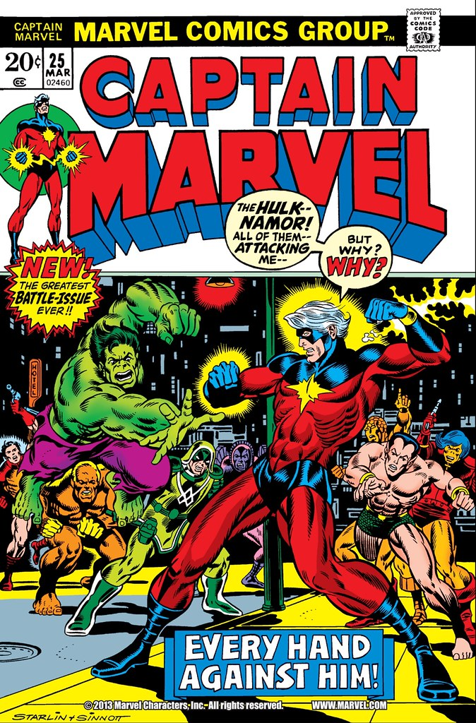 Captain Marvel 25