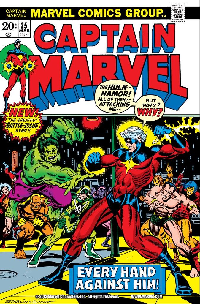 Captain Marvel 25