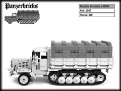 Maultier Mercedes Benz L4500R de Panzerbricks