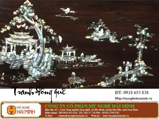 tranhdongque TRA3935c