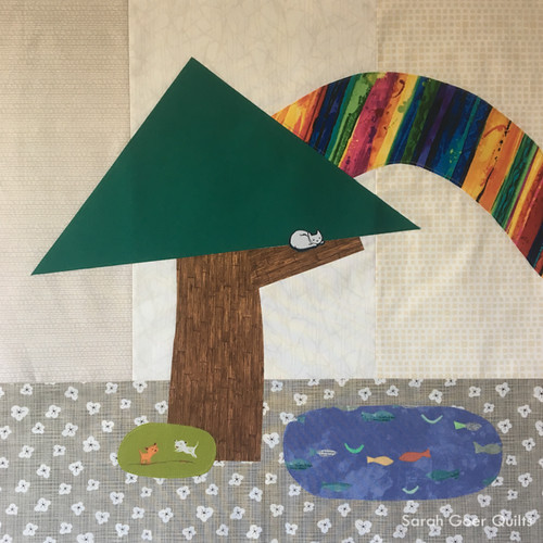 Kids Quilt Round Robin KQRR quilting with kids