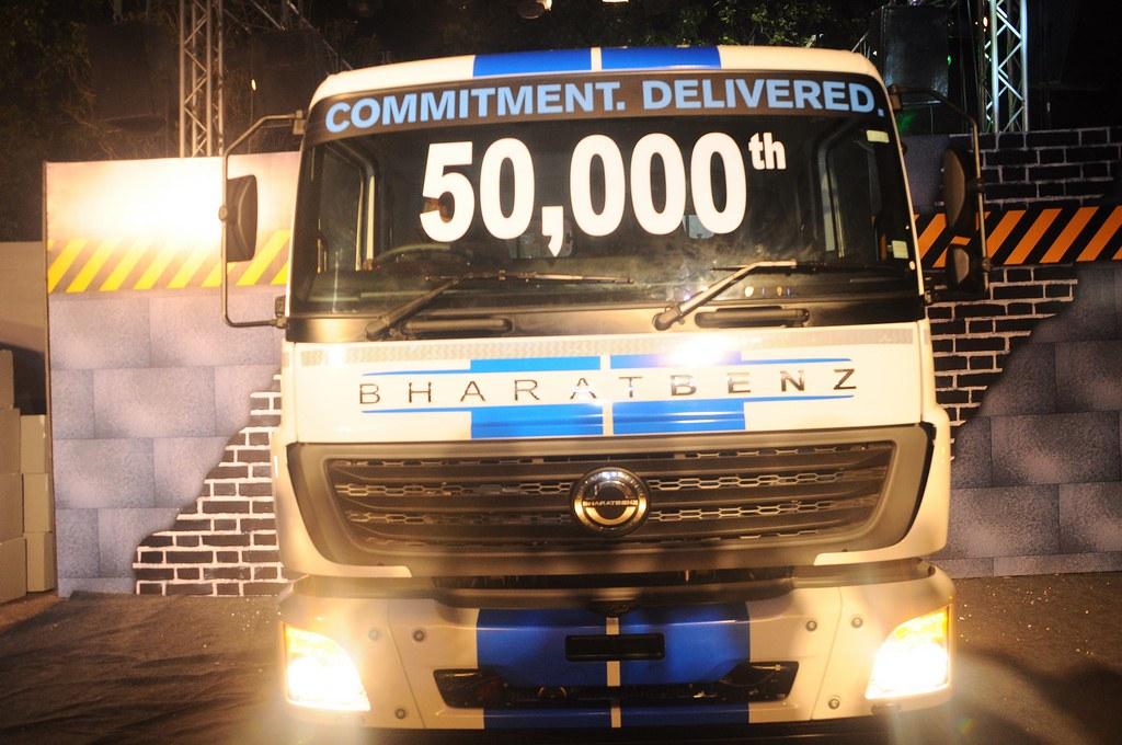 Bharat-Benz-50000-Truck-Sales-Milestone (2)