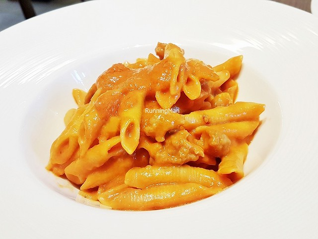 Garganelli With Homemade Sausage