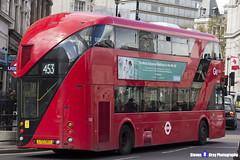 Wrightbus NRM NBFL - LTZ 1307 - LT307 - Marylebone 453 - Go Ahead London - London 2017 - Steven Gray - IMG_8688