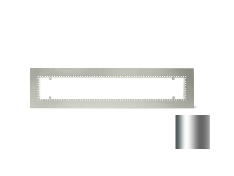 QBC Bundled Infratech 18-2305SS W61 Accessory Flush Mount Frame Stainless Steel