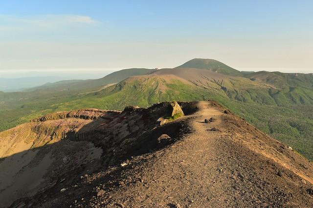高千穂峰 御鉢の稜線