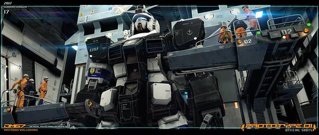 Gundam Prototype RX 78 01