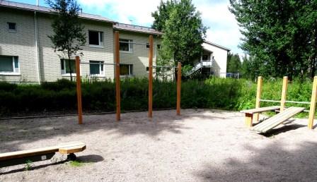Kuva toimipisteestä: Heiniitty / Ulkokuntoiluvälineet
