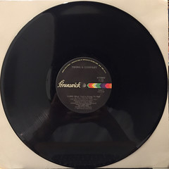 YOUNG & COMPANY:I LIKE(WHAT YOU'RE DOING TO ME)(RECORD SIDE-A)