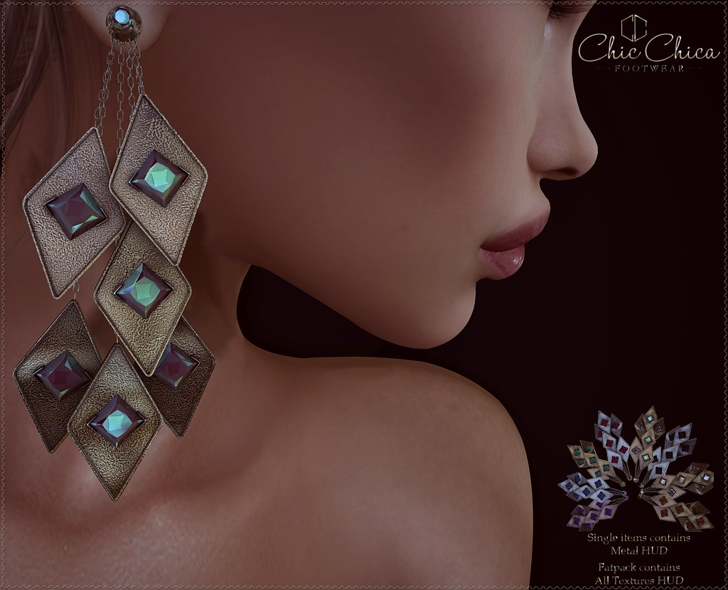 Nika earrings by ChicChica OUT @ Cosmopolitan